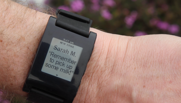 pebble watch email 1