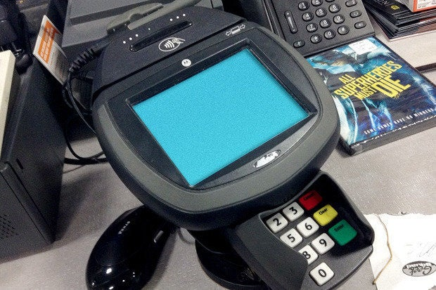 point of sale credit card reader