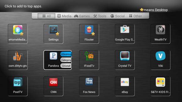 putting an app on the desktop
