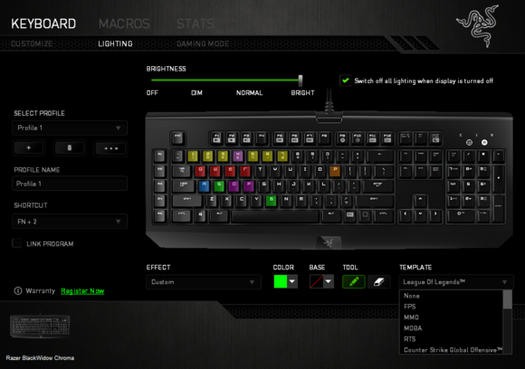 Razer Chroma Software