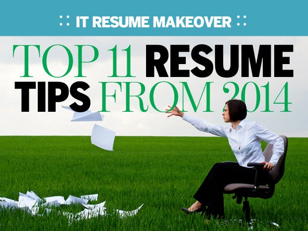 the best it resume tips of 2014 network world