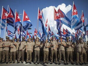 Members of the Cuban Revolutionary Army