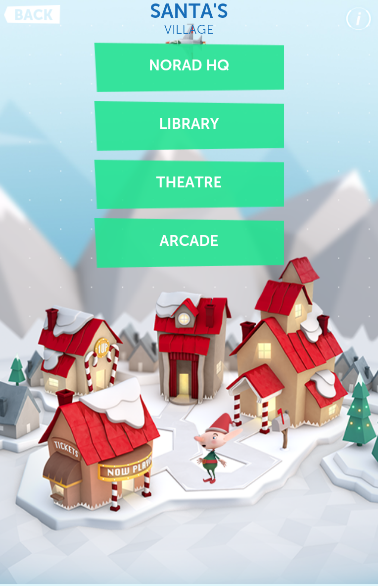 the norad santa tracker mobile app
