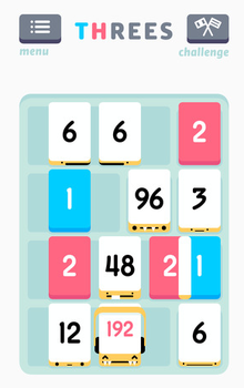 Threes! game