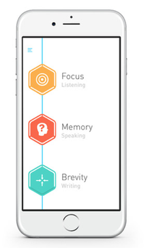 Elevate brain training app