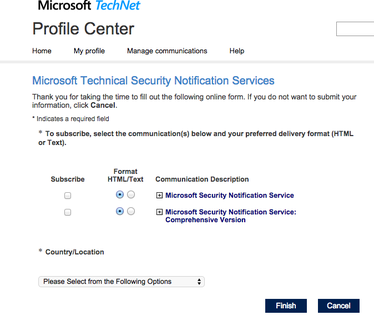 Microsoft email services