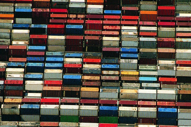 shipping containers cargo containers harbor industry commerce