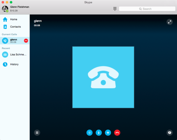 skype connected