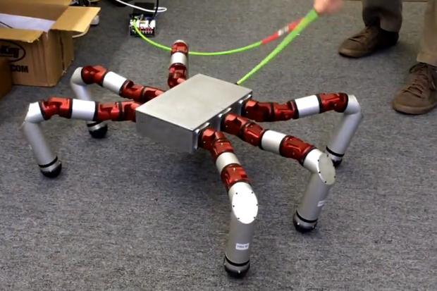 snake monster robot