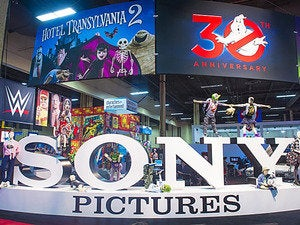 sony pictures booth