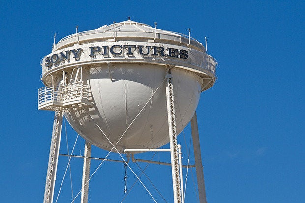 sony pictures water tower