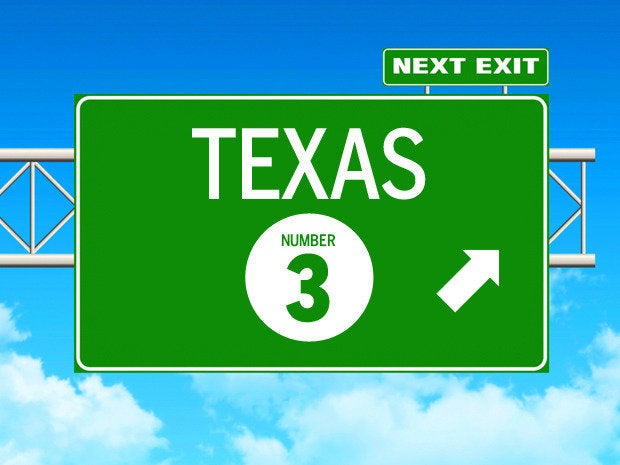 texas best state itjobs
