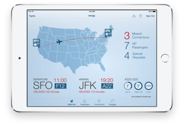 Passenger+ app from IBM-Apple partnership