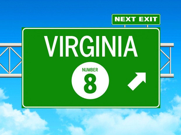 virginian.carolina best state itjobs