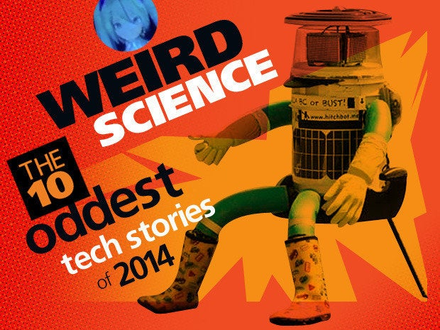 Weird science: The 10 oddest tech stories of 2014
