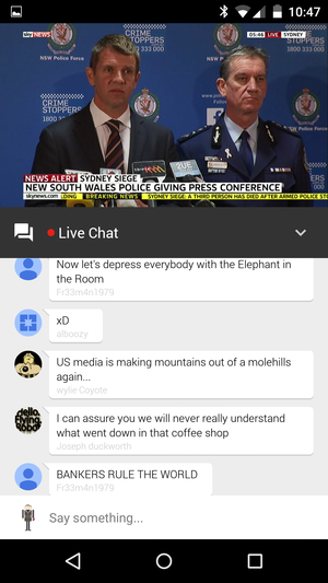 Sound Off On The Latest Live Stream With Youtubes New Chat Feature