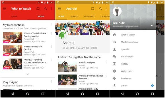 YouTube Android app gets much-needed Material Design ...