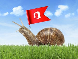 Microsoft Office snail crawl slow