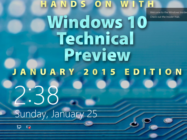 Windows 10 January 2015 technical preview