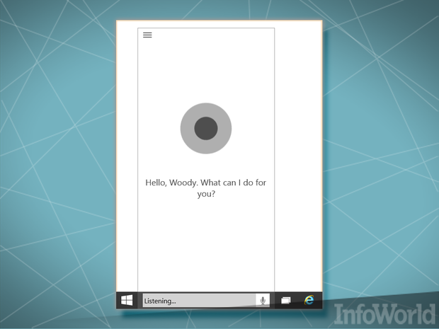 January 2015 Windows 10 Cortana