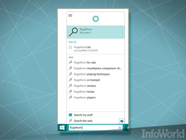 January 2015 Windows 10 Bing tracking