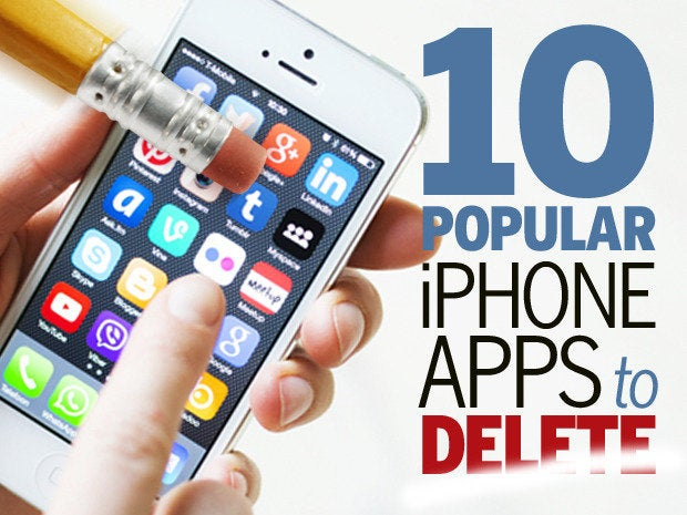 how to delete the apps that come with iphone