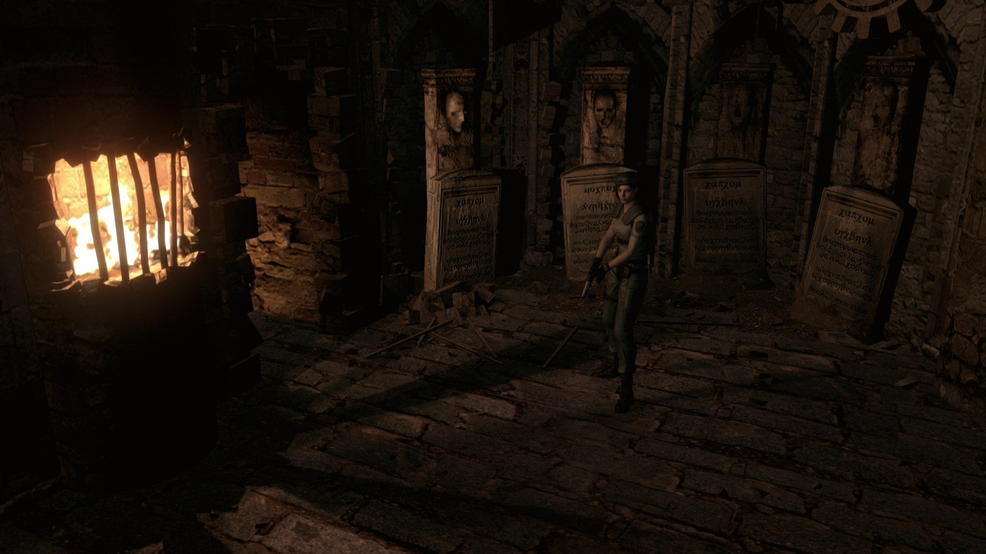 Resident Evil HD review: Digging up old graves   PCWorld
