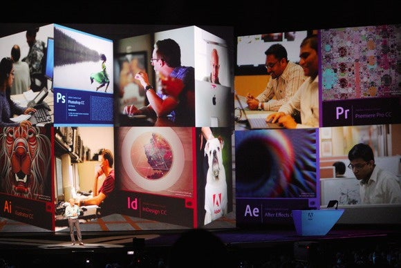 adobe max 2014 narayen on stage