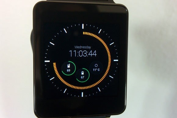 android wear pujie black