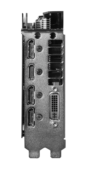 asus strix gtx960 dc2oc 2gd5 io ports