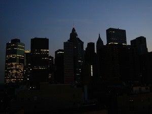 Blackout, New York City skyline
