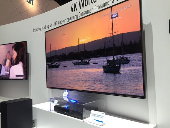 ces 2015 panasonic 4k tv