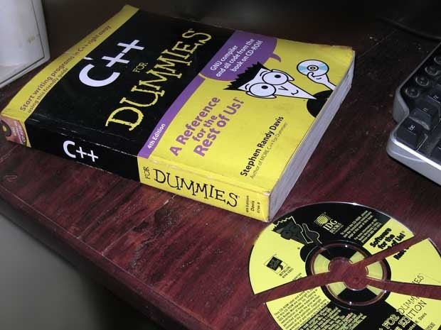 C++ for Dummies book and CD-ROM