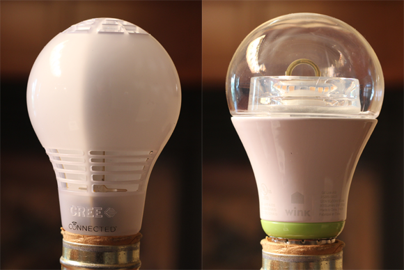 Battle of the connected led light bulbs cree vs ge link Cost of light bulb