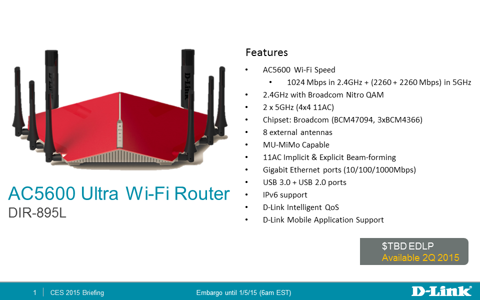 D-Link shows off radical 802 11ac routers and Wi-Fi adapters