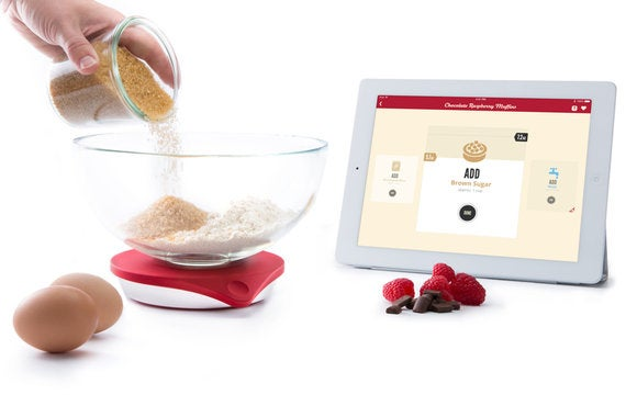Drop review an ipad connected scale for beginning bakers for Perfect blend smart scale