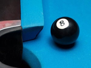 eight ball side pocket