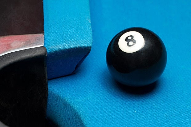 eight ball side pocket