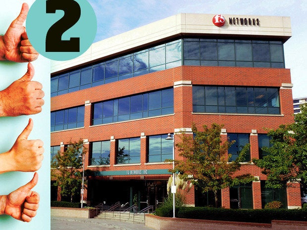 F5 networks employee reviews