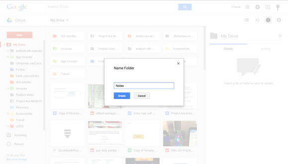 How (and why) to use Google Drive as a powerful note-taking