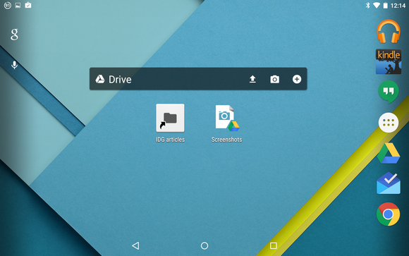 google drive widgets