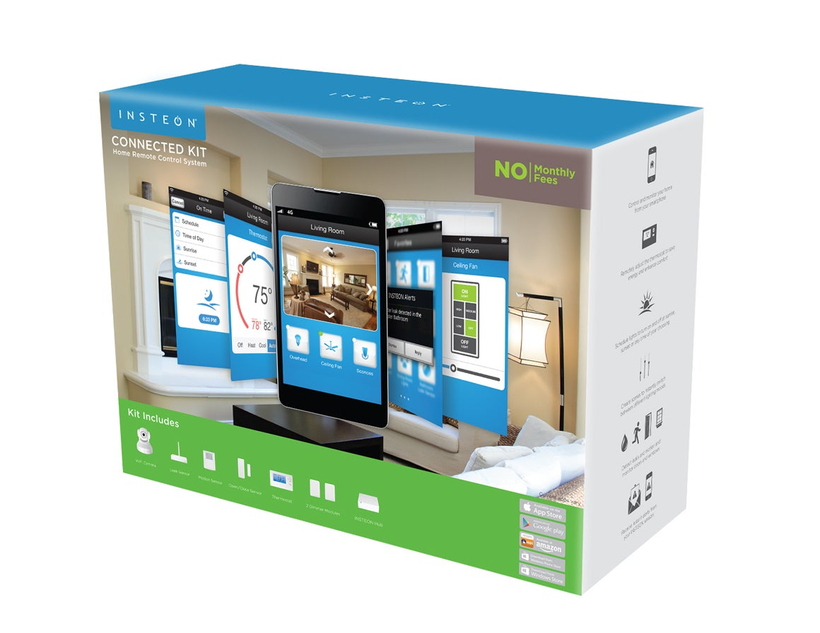 Home Automation Hub Reviews insteon connected kit review: strong lighting controls; a weak app