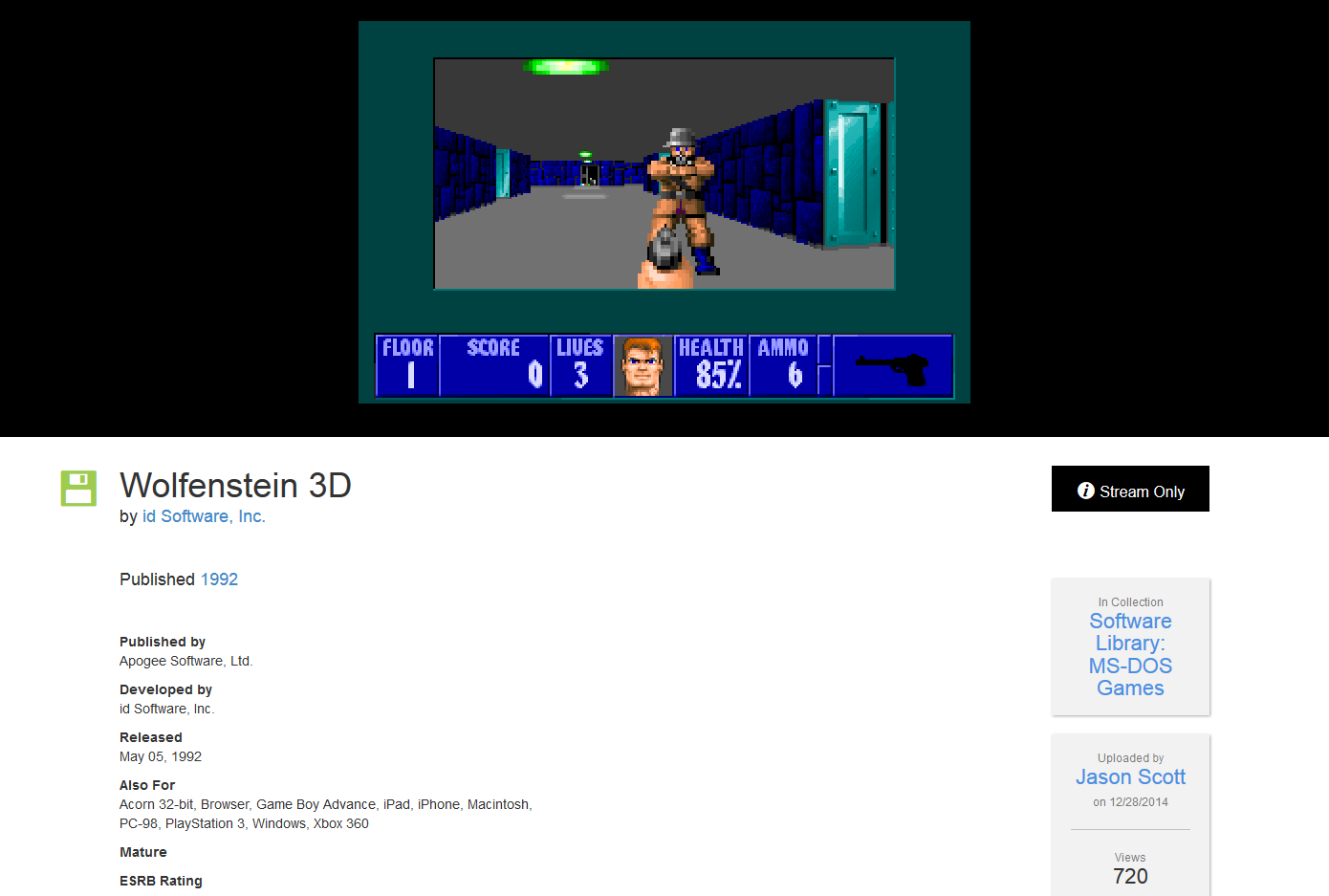 Internet Archive brings over 2000 free classic MS-DOS games to your