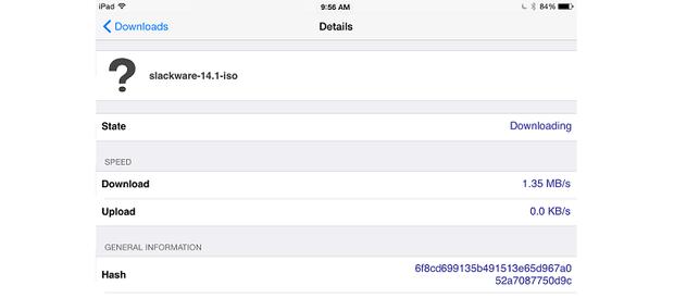 ProPopulo torrent Details screen.