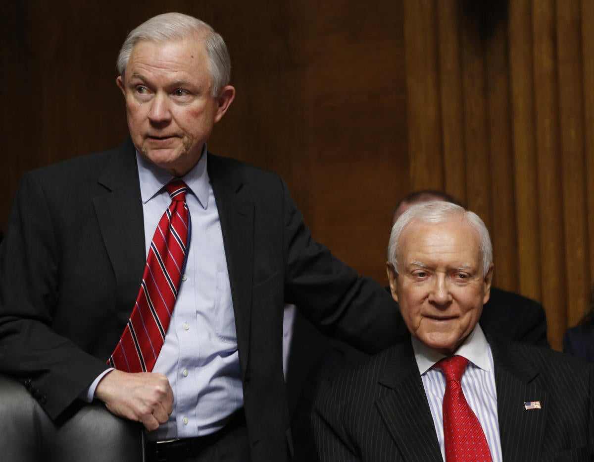 jeff sessions and orrin hatch