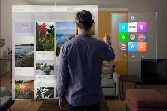 microsoft windows 10 holographic