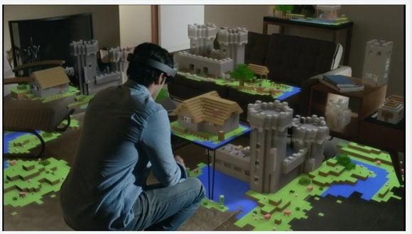 b79ffdf9607f Hands-on with Microsoft s HoloLens  The 3D augmented reality future ...