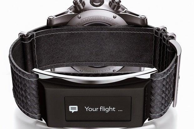 montblanc smartwatch band