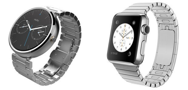 Moto 360, Apple Watch