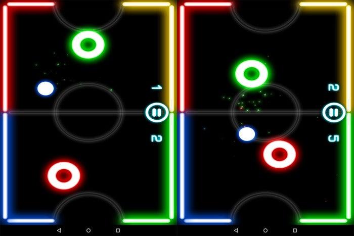 multiplayer glow hockey